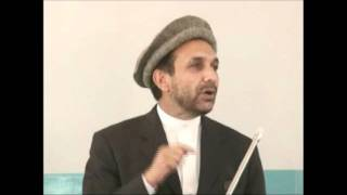 Part .1 Ahmad Zia Massoud in Panjshir speaking on ISI, Karzai, Pakistan and Rabbanis death.