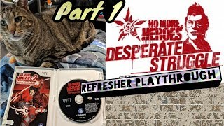 No More Heroes 2 Refresher before NMH3 drops! Part 1