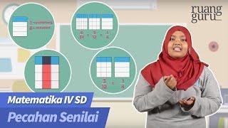 Gambar cover ruangbelajar - Matematika IV SD - Pecahan Senilai | bimbel online