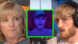 "REACTING TO JAKE PAUL'S ""my message to KSI. lmao."""