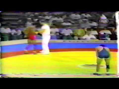 1992 Olympic Games: 62 kg Lazaro Reinoso (CUB) vs. John Smith (USA)