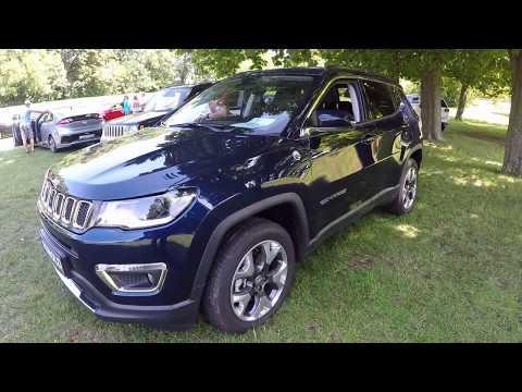 Jeep Compass Limited 4x4 New Model 2017 Jazz Blue Walkaround Interior Youtube