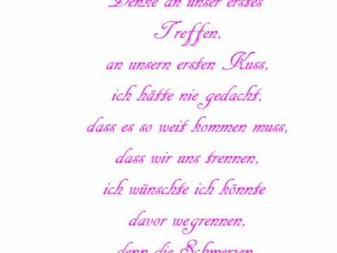Verlorene Liebe-Gedicht(kurzfassung) - YouTube