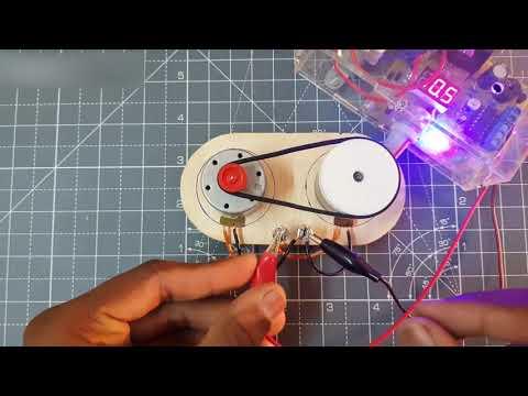 Bepul energiya generatoridan foydalanadigan ikkita MC motor...Two MC Motor using free Energy generat