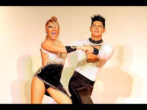 Los super Campeones mundiales de SALSA! Karen Forcano y Ricardo Vega