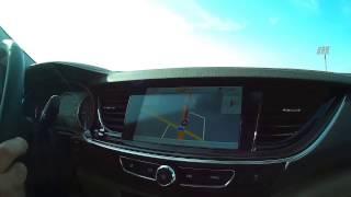 Short Testdrive with the new Opel Insigina Grand Sport MY 2017