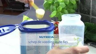 Cách pha sữa Nutrilon