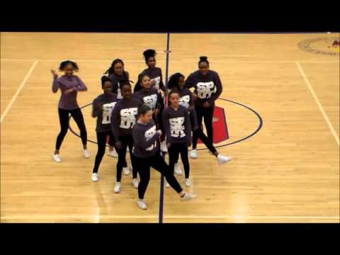 SPDT (Stone Panthers Dance Team) at Sweetheart 2016, pt2