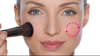 DO NOT APPLY BLUSHER TO THE APPLES OF THE CHEEKS!!!! thumbnail