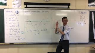 Solving Trigonometric Equations by Graphs (1 of 2: Cosine example)