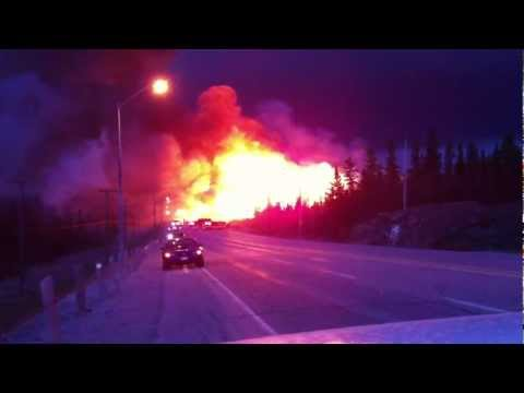 Rae Hill Fire Timmins/ South Porcupine Ontario, Canada