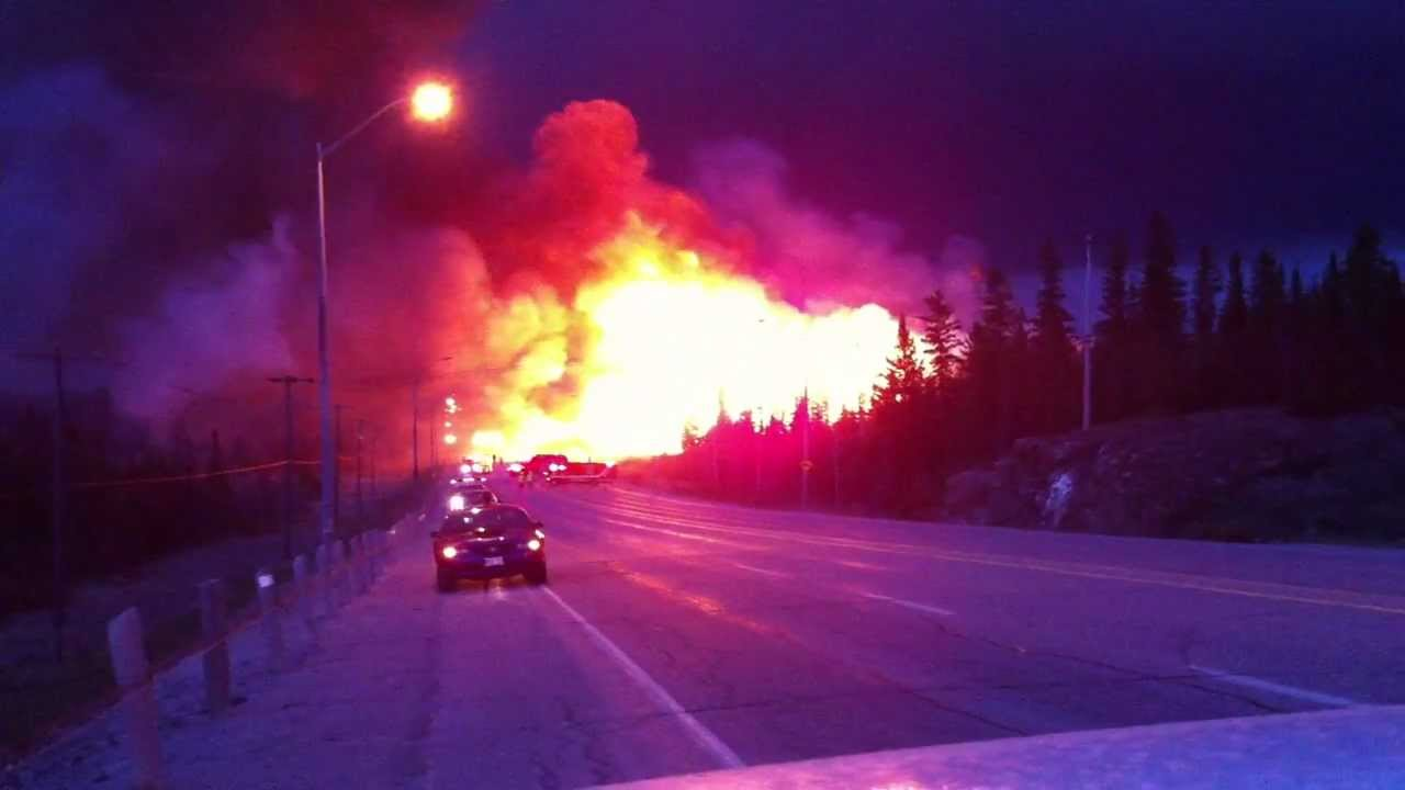 Rae Hill Fire Timmins/ South Porcupine Ontario, Canada ...