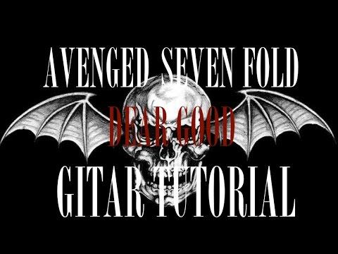 "Vdyoutube download video:"" avenged sevenfold-dear god tutorial+."