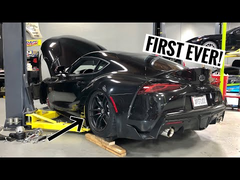 My 2020 Toyota Supra gets BAGGED!