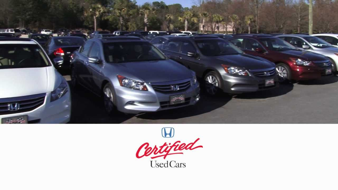 Cale yarborough honda certified used cars youtube for Honda used certified