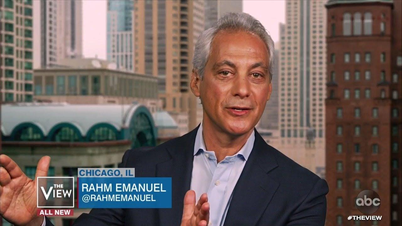 Rahm Emanuel Shares How He Believes Joe Biden Should Strategize Campaign | The View