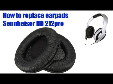 Earpads replacement for Sennheiser headphones for less than $3