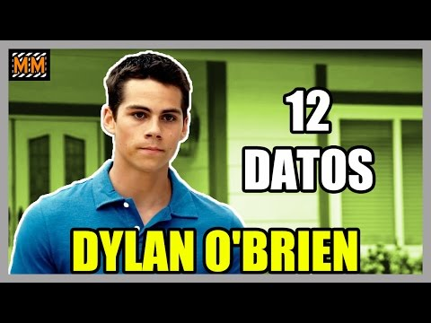 "Thumbnail: 12 Curiosidades sobre ""DYLAN O'BRIEN"" - (The Maze Runner) (Teen Wolf) - 