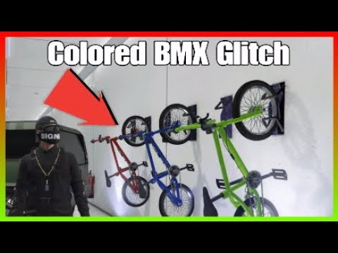Easy How To Change The Color Of Your Bmx Bike On Gta 5 Online Youtube
