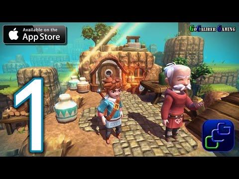 Oceanhorn: Monster of Uncharted Seas iOS Walkthrough - Gameplay Part 1 - Hermit's Island