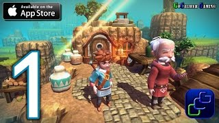 Oceanhorn: Monster of Uncharted Seas iOS Walkthrough - Gameplay Part 1 - Hermit