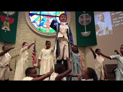 Alexander Hamilton by Kids