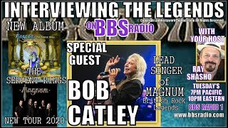 Magnum frontman Bob Catley chats about 'The Serpent Rings'