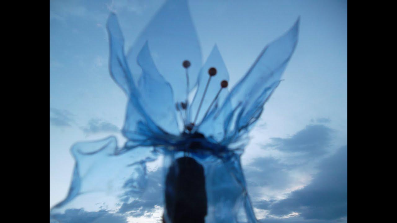 Tele rdr 292 fiori di pet differenziare la for Sfere con bicchieri di plastica