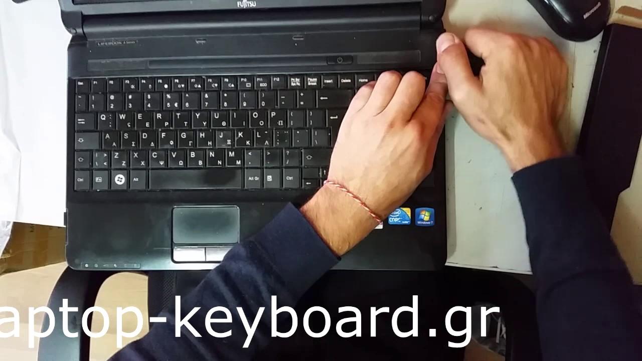 Fujitsu LifeBook E8310 (Black) Laptop Keyboard ...