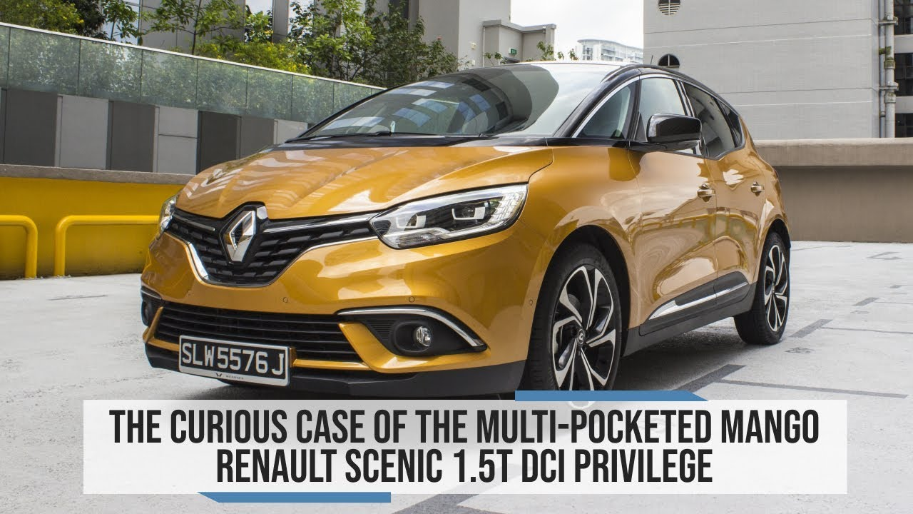 Nietypowy Okaz Renault Scenic 1.5T dCi Privilege 2018 Review Singapore - Oneshift.com DH86