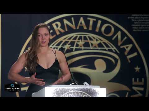 Ronda Rousey's International Sports Hall of Fame Induction Speech