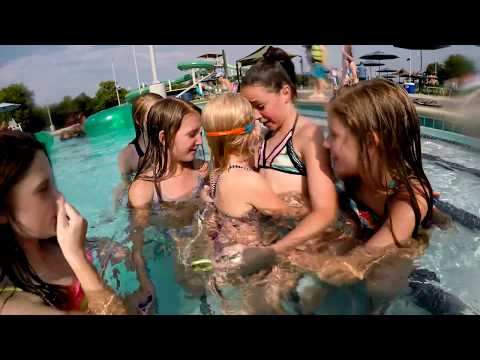 Swimming with Friends at Jack Carter Pool