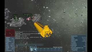 Space Engineers:  Tesing the MAC Cannon Mk2 prototype.