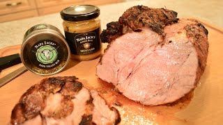 How To Grill Napa Jack's Amber Beer Mustard Pork Loin: Cooking With Kimberly