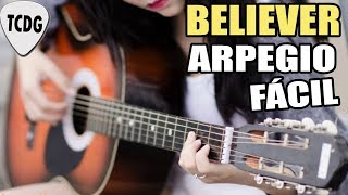 El arpegio más facil en guitarra para principiantes: Believer (Imagine Dragons)