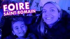 VLOG - Journée de Folie à LA FOIRE SAINT-ROMAIN ! - Manèges & Attractions