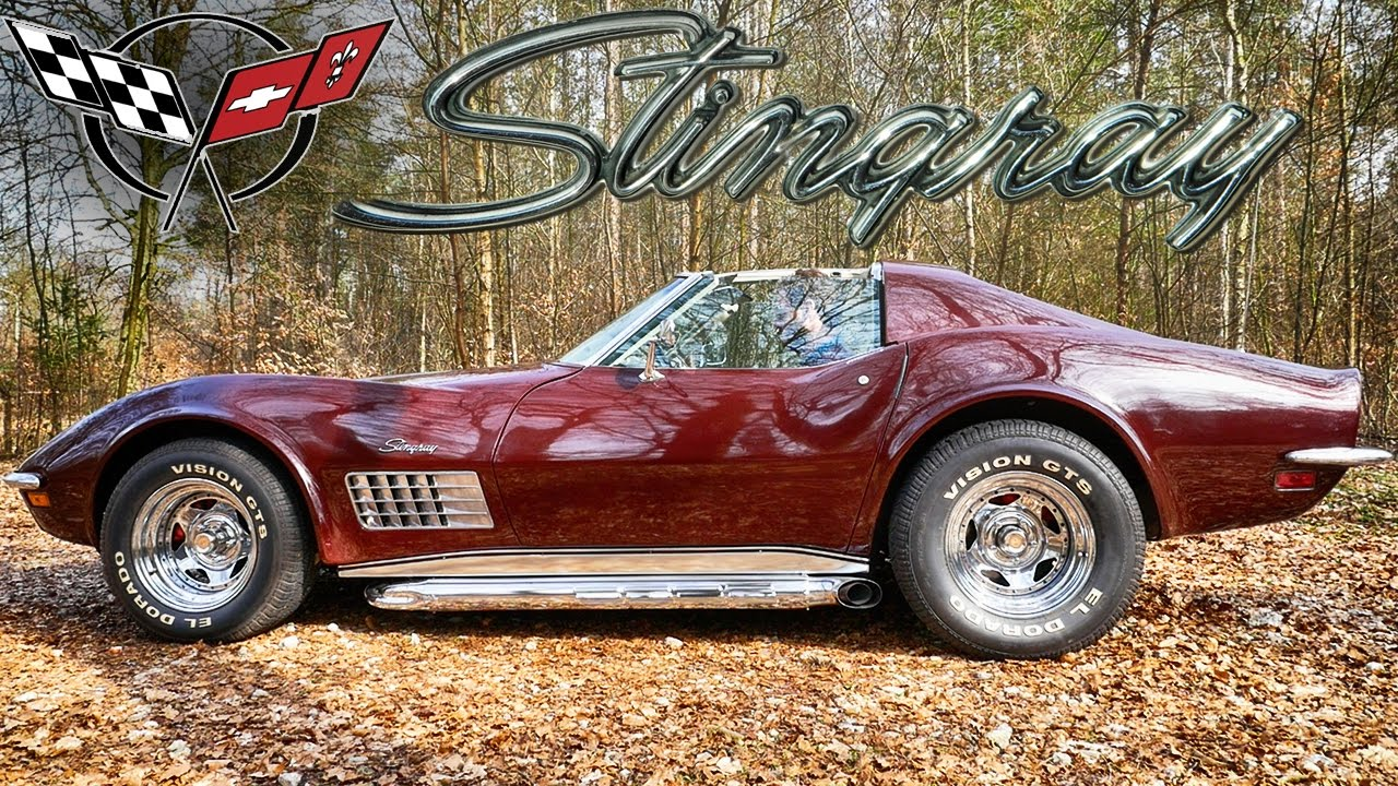 Corvette C3 Sound 1972 Loud Side Pipes 5 7 350 V8 Exhaust By