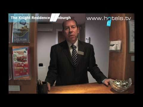 Interview With Colin Stone: Manager Of The Knight Residence In Edinburgh, Scotland UK - Hotels.tv