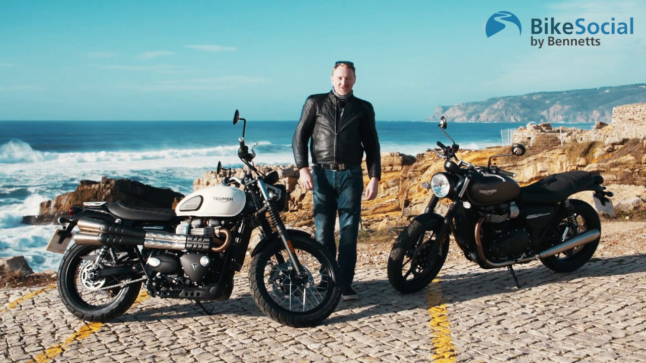 Triumph Street Twin And