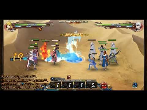 Naruto online 5 0 - Ninja Exam 279 - Wind main (Breeze