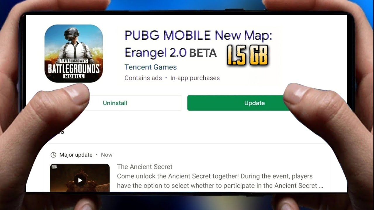 Finally After 1year Erangel 2.0 Beta Pubg Mobile is Out on Android | 90fps | 1.5GB