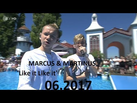 Marcus & Martinus  performs 'Like It Like It' in Germany  2017