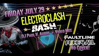 Electroclash Bash! Friday 7/29 at Faultline!