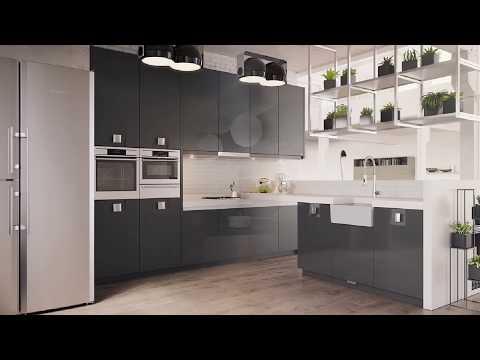 Черно&Белое кухни 21 века в России