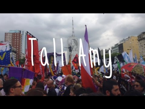 Marching for justice in Buenos Aires: Grandmas & Fireworks