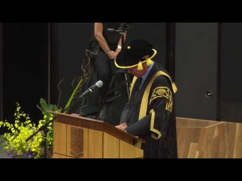 UNSW Canberra Degree Conferral 2016 – Business, Humanities &