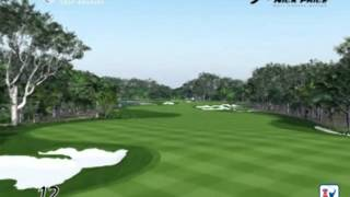 Vista Aerea Campo de Golf Cancun Country Club