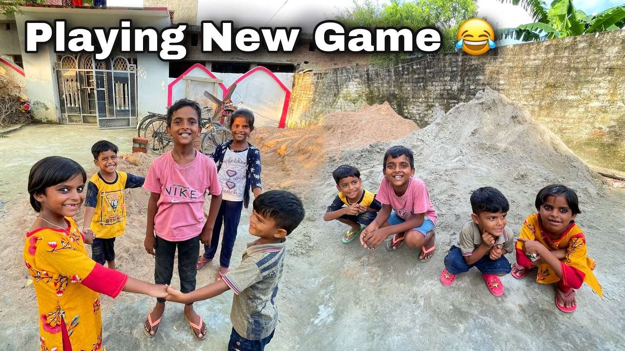 Zeeshan Playing New Game With His Friends 😂