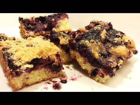 Blueberry Streusel Coffee Cake- Recipe- Cesy Can Cook