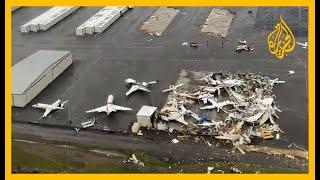 إعصار هائل يضرب مدينة ناشفيل الأمريكية... شاهد ماذا خلف وراءه